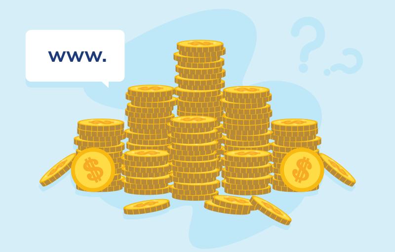 domain cost