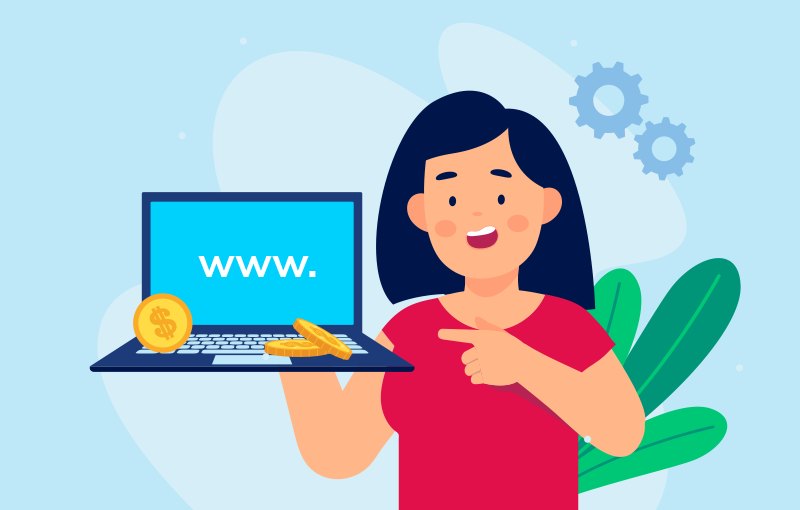 sell a domain name